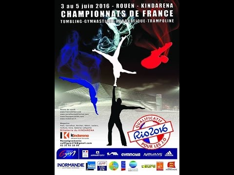Le CPB TSA de Rennes aux Championnats de France 2016 de Gym Acro, Trampoline et Tumbling