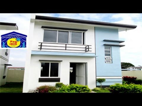 Lysa basic turned over pag ibig house and lot in for Up and down house design in the philippines
