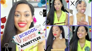 3 Easy Back To School Hairstyles + Tips! Thumbnail