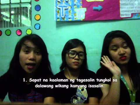 Plpasig English Filipino Idioms Trutorial Beed 2b Youtube