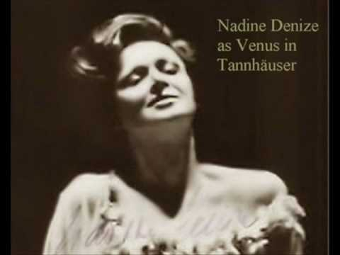 Nadine Denize as Venus Tannhäuser 1984