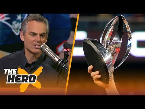 Colin reacts to the Patriots and Eagles winning their Conference Championship games | THE HERD