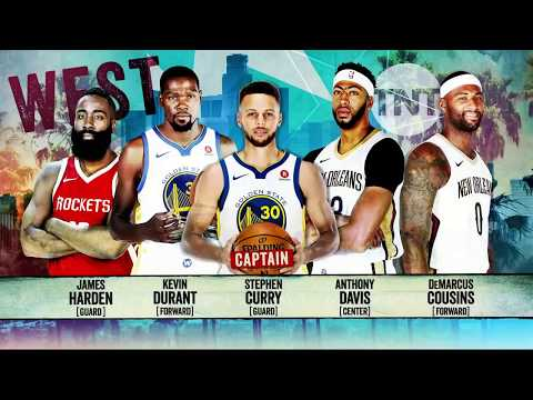 2018 West All-Star Starters Announcement | Inside the NBA | NBA on TNT