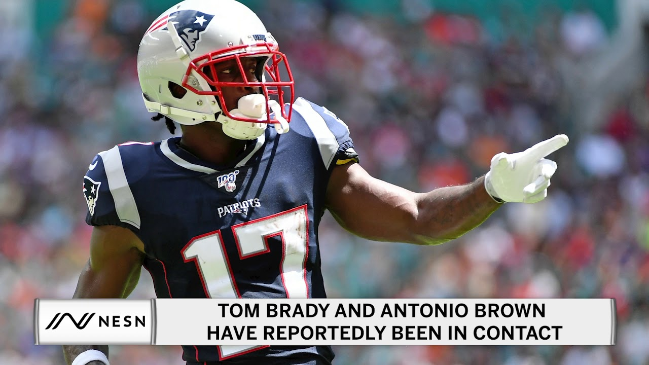 Tom Brady and Antonio Brown Have Reportedly Been in Contact