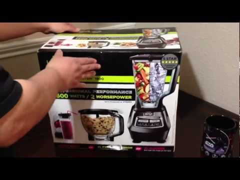 ninja 1500 watt mega kitchen system farm table 'mega system' infomercial | doovi