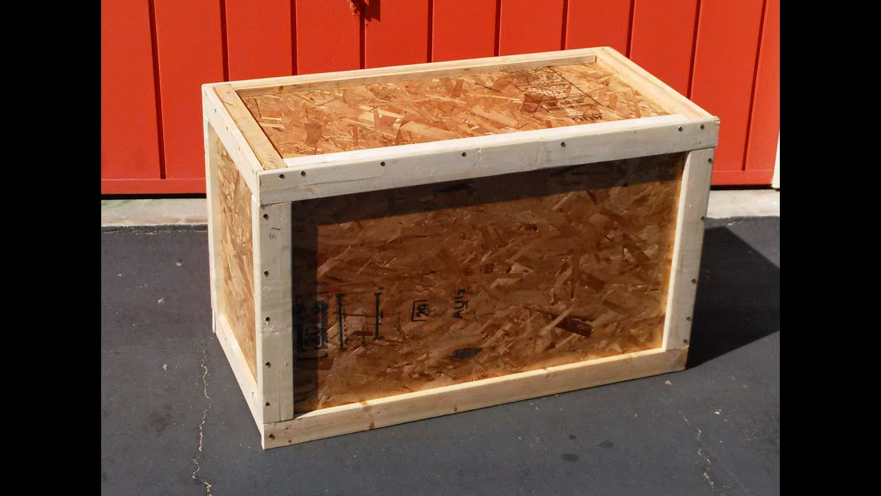 Build A Crate How To Youtube