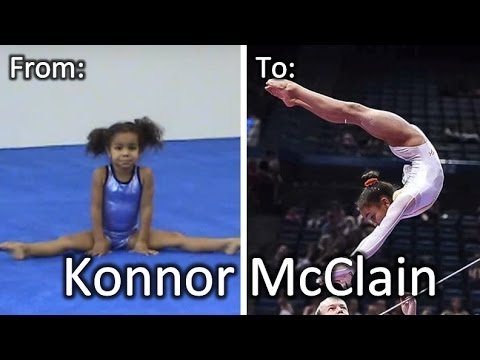 Amazing 12yr HOPES gymnast Konnor McClain