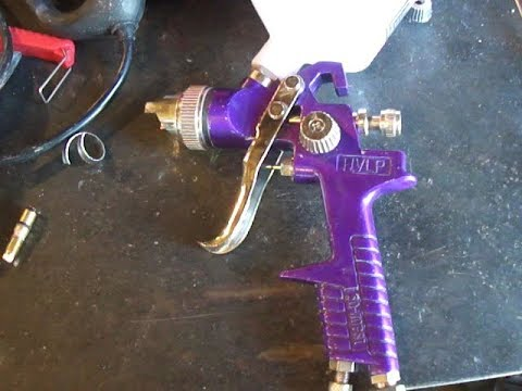 Harbor Freight HVLP Spray Gun Mods