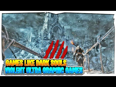 Top 10 Games Like Dark Souls For Android & IOS 2018 | Violent Ultra Graphic Games Like Dark Souls !
