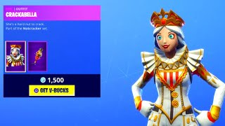 *NEW* CRACKABELLA SKIN! Fortnite DAILY ITEM SHOP [December 19] CRACKSHOT SKIN RETURNS!