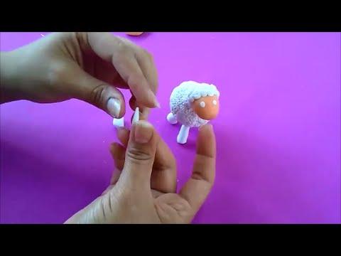 Como hacer una oveja en porcelana fria facil youtube - Como hacer una oveja ...