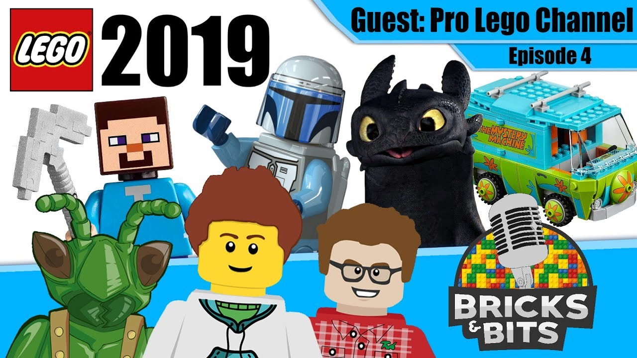 LEGO 2019 Sets Predictions, Most Disappointing LEGO - Bricks & Bits #4!