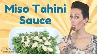 Non-dairy Salad Dressing Recipe: Creamy, Nutty, Tangy - Vegan Salad Dressing- Asian Sauce Recipe