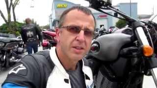 видео Тест-драйв мотоцикла Victory Magnum. Стать и сила
