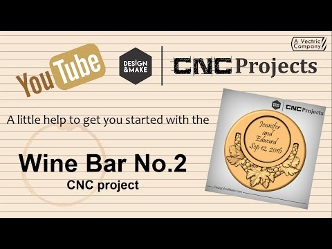 To Get You Started Using Our Wine Bar No.2 CNC Project   Design & Make