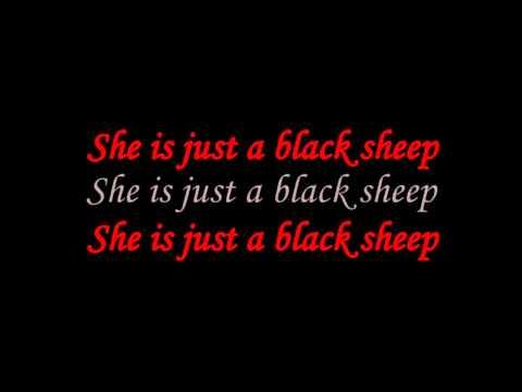 Valentine - Black Sheep (Lyrics on screen)