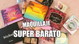COMPRAS DE MAQUILLAJE SUPER BARATO | BEAUTY CREATIONS, LA COLORS, SANTEE Y MAS