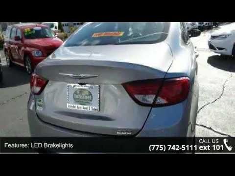 2015 Chrysler 200 Limited Internet Auto Reno Reno Nv Youtube