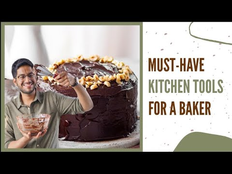 Kitchen Tools From Amazon | Basic Baking Tools And Equipment | Baking Must Haves