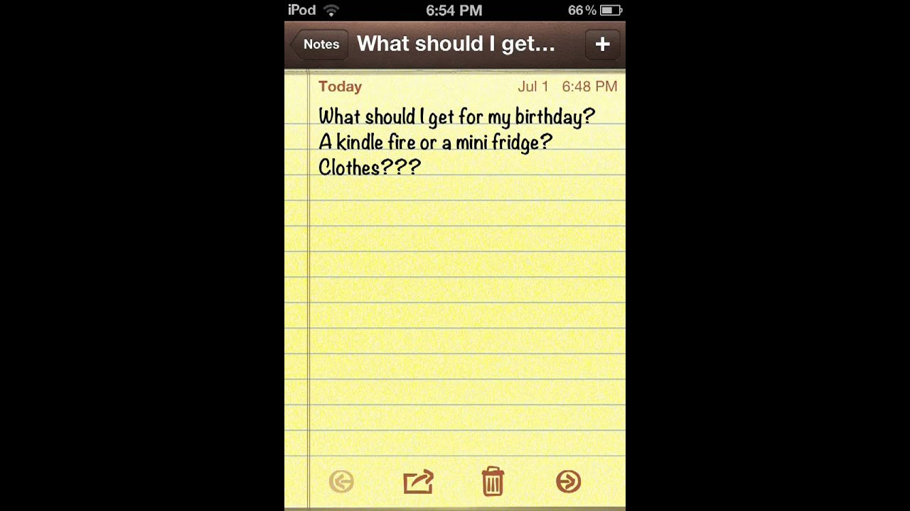 What should I get for my Birthday  YouTube