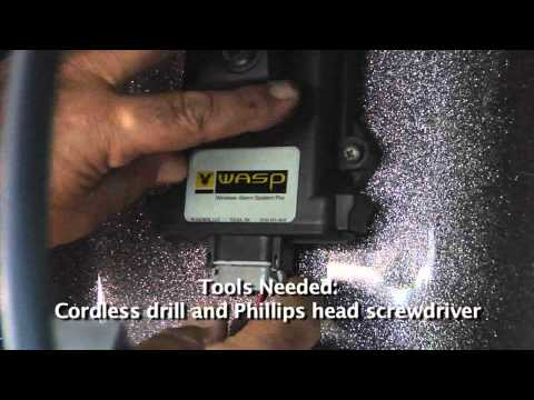 WASP Wireless Boat Alarm