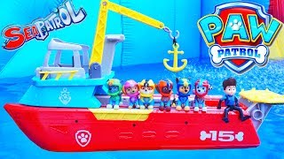 Sea Patroller Paw Patrol Pups Save a Baby Octopus with New Rescue Toys
