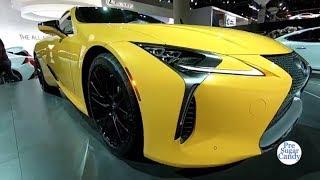 2019 Lexus LC 500 Exterior and Interior Walk around LA Auto Show