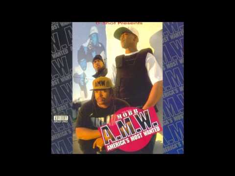 A.M.W. America's Most Wanted - Mobb Life 1995 Rare Oakland Cali Rap Bay Area