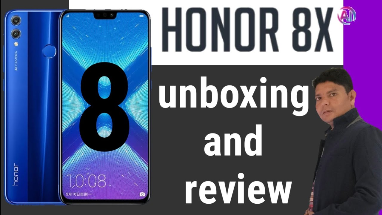 Honor 8x unboxing full review in Dubai