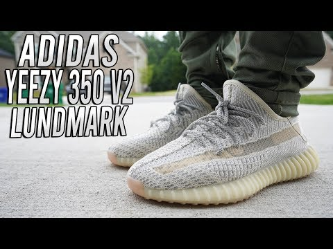 ADIDAS YEEZY 350 v2 LUNDMARK REVIEW AND ON FOOT !!! - YouTube