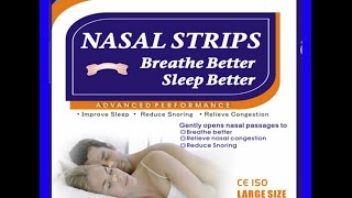 Nasal Strips Stop Snoring
