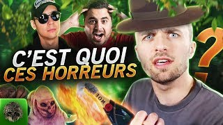 C'EST QUOI CES HORREURS ?! 🤮 (The Forest ft. Locklear, Doigby)
