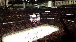Game 3 end: Nashville at Chicago 300 level view