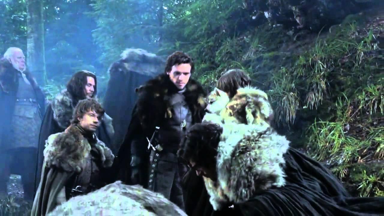 Direwolf Puppies Scene Game Of Thrones 1x01 Hd