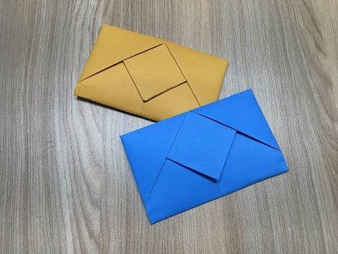 Pull Tab Envelope | Easy DIY