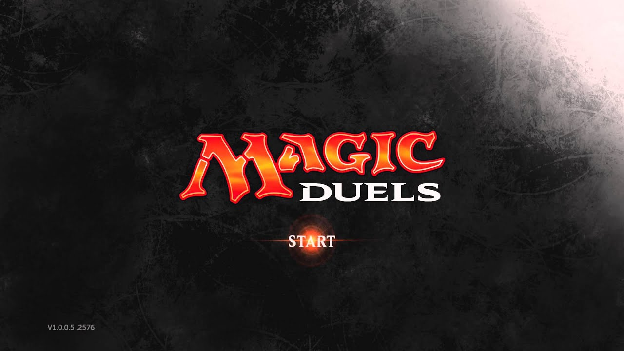 Magic Duels: Origins Title Screen (PC, Xbox One, PS4)