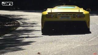 كريس هاريس يختبر واحدة من أندر السيارات, بوجاتي EB110 SS