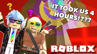 [ROBLOX] THE UNDEFEATABLE OBBY TOWER OF HELL!?