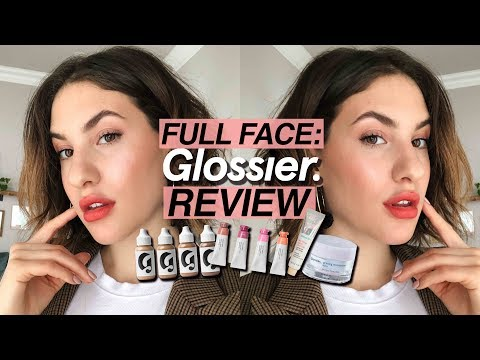 FULL FACE Of GLOSSIER: My THOUGHTS on EVERY Product | Jamie Paige