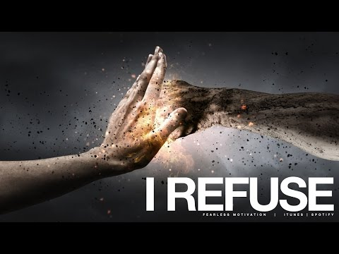 I Refuse To Settle For Less Than I Can Be! (Motivational Video)