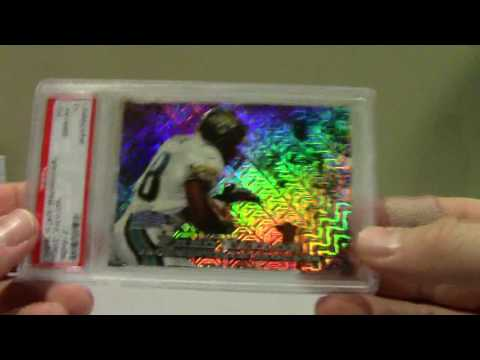 1998 FRED TAYLOR PSA BGS COLLECTION SHOWCASE