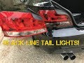 BMW Black Line tail lights install! (painting give away!)