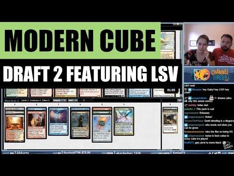 Modern Cube Draft #2 featuring LSV / Magic: The Gathering MTG