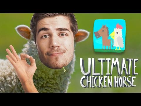 NEBOJÁCNA OVEČKA! - Ultimate Chicken Horse 01 │ GoGo, Ment,…