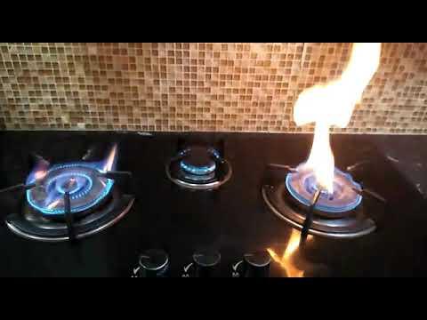 Dapur Gas Kaca Problem