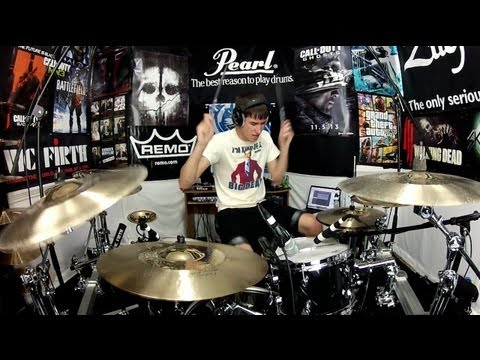 22 - Taylor Swift - Drum Cover - Rock Remix by Jimmy Rainsford