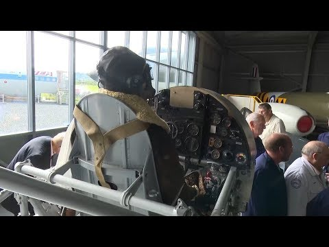 The Past Lives On With WW2 Hawker Typhoon Aircraft Reconstruction | Forces TV