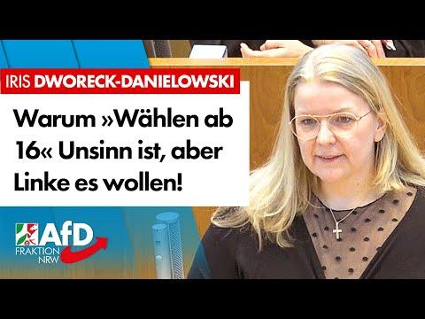 Warum »Wählen ab 16« Unsinn ist! – Iris Dworeck-Danielowski (AfD)