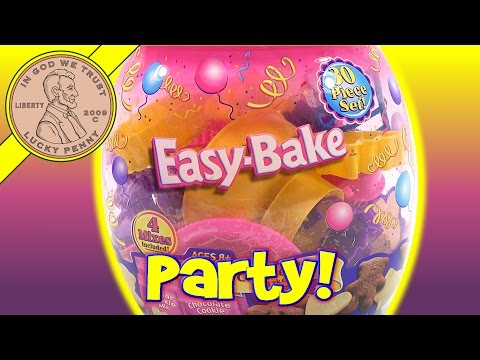 Easy Bake Cookie Party Cookie Mix & Easy Bake Oven Baking