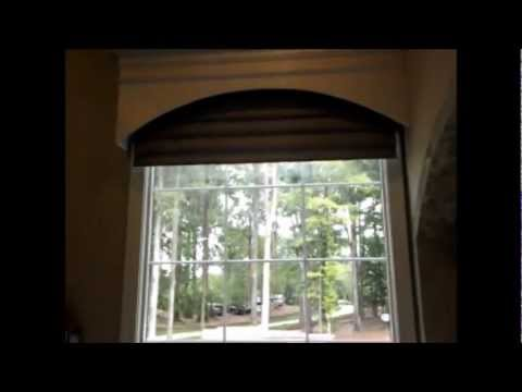 Motorized Vignette Roman Shade By Hunter Douglas Youtube